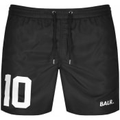 Product Image for BALR 10 Logo Swim Shorts Black